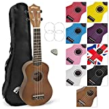 Tiger Natural Soprano Ukulele with Carry Bag