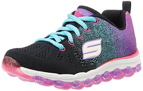 Skechers Mädchen Skech Air Ultra-Glitterbeam Sneaker Black (Black/Multi)