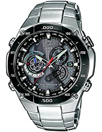CASIO Edifice EQW-M1100DB-1AER - Reloj de caballero de cuarzo, correa de
