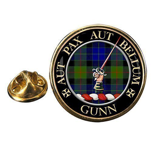 gunn-clan-ecossais-insigne-de-goupille-de-revers