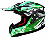 Casco Motocross Niño ECE Homologado - YEMA YM-211 Casco de Moto Infantil Cross Integral Enduro Infantil para Mujer Hombre Adultos, M