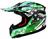 YEMA Casque Motocross Enfant ECE Homologué YM-211 Casque DH Enduro Quad - S