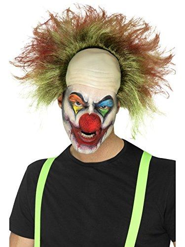 r Clown Perücke mit Blut Spritzern, One Size, Grün, 46871 (Böse Clown Perücke)