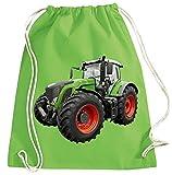 Blackshirt Company Traktor Turnbeutel Schlepper Rucksack Sportbag Farbig Farbe Grün