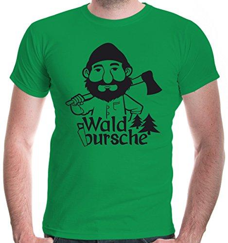 irt Waldbursche | Waldarbeiter Förster Holzfäller | XXL, Grün (Baum Mann Kostüme)