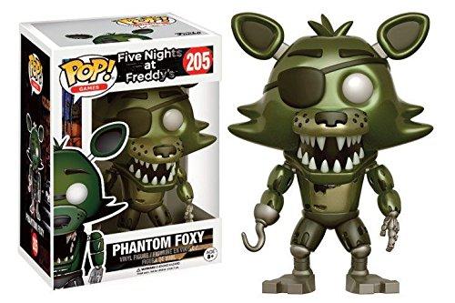 Five Nights At Freddy's Phantom Foxy Vinyl Figure 205 Collector's figure Standard