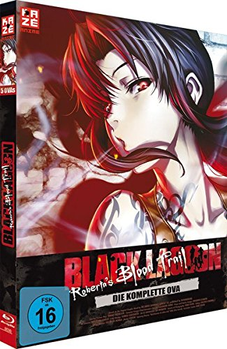 Black Lagoon: Robertas Blood Trail - Die komplette OVA [Blu-ray]