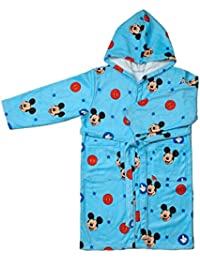 Disney Mickey Albornoz Infantil, Talla 6/8 Microfibra, Unico 33x23x1 cm