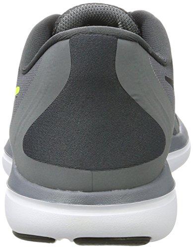 Nike Herren Flex 2017 RN Laufschuhe Mehrfarbig (Anthracite/volt/cool Grey/black)
