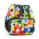 Rumparooz One Size Cloth Diaper Cover Snap, Dragons Fly - Castle