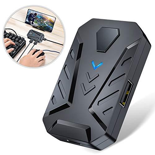 - Tastatur-maus-konverter (BEBONCOOL Wireless Adapter für PUBG Mobile, Tastatur & Maus Konverter für Android/IOS Handy, Plug & Play Tragbar Adapter für PUBG Mobile/Arena of Valor/Mobile Legends/Knives Out)