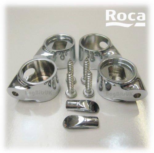 roca-juego-elementos-bisagra-cada-amortiguada-carcasa-latn-kit