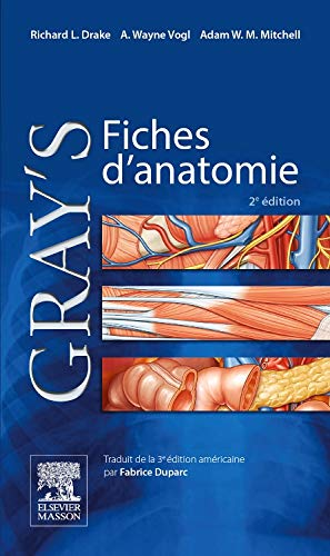 Gray's Fiches d'anatomie par Richard L. Drake