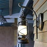 WanJiaMen 'Shop-chinesischen Wandleuchte balkon Flur Gang Laterne kreative retro Petroleumlampe antiken club Treppenhaus Lampen