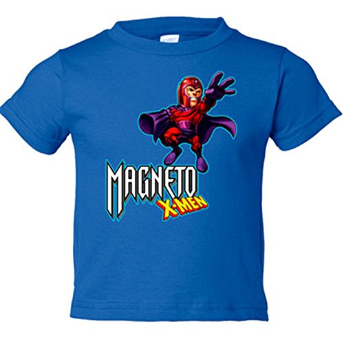 Camiseta niño Magneto X-Men - Azul Royal, 18-24 meses