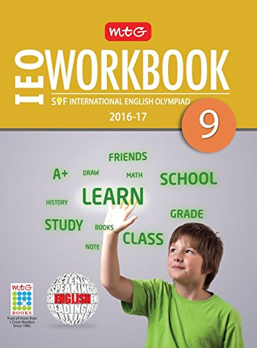 MTG International English Olympiad (IEO) Work Book - Class 9