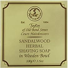 Taylor of Old Bond Street - Savon à Barbe et son bol en bois - Sandalwood