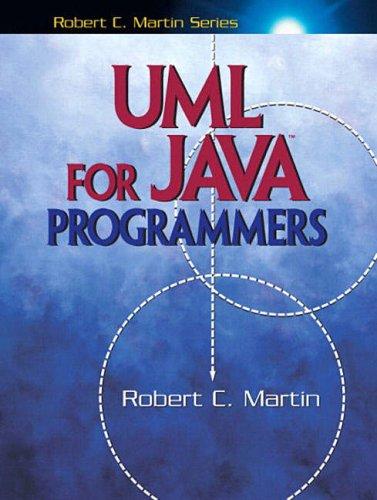 UML for Java¿ Programmers (Robert C. Martin) par Robert C. Martin