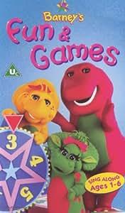 Barney Barney S Fun And Games Vhs Barney Amazon Co Uk