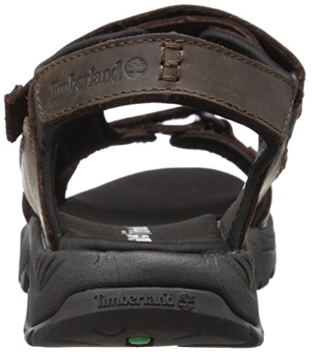 Timberland Herren Crawley Sandaldark Sandalen, Braun (Dark Brown), 46 EU -