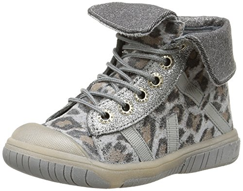 Babybotte - Artiste2, Sneakers per bambine e ragazze, grigio (409 gris panthère), 24