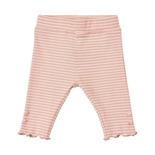 MINYMO Baby Girl Leggings 2x2 rib Rosa - Rib Kniestrümpfe
