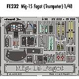 Eduard 1/48 Mikoyan MiG-15 Fagot PRE-PAINTED # 232