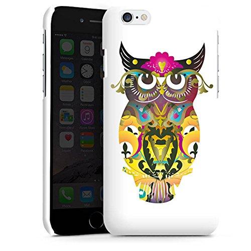 Apple iPhone 5s Housse Outdoor Étui militaire Coque Hibou décoratif Hibou Hibou Cas Premium brillant