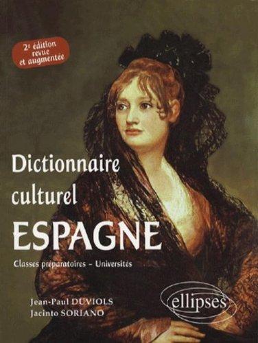 Espagne Dictionnaire culturel