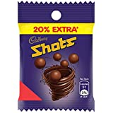Cadbury Dairy Milk Chocolate Shots, 10.8gm (Pack Of 48)