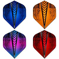 Red Dragon Hardcore Selection Pack Extra Thick Standard Dart Flights Checkout Card