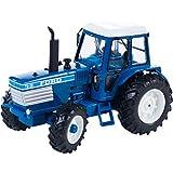 Britains - Tractor Ford TW25, color azul, blanco y negro (TOMY 43011)