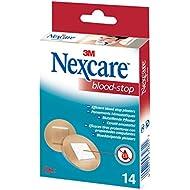 Nexcare Blood Stop 14 - Tiras, diámetro 22,5mm