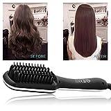 Hairlife Lisseur Cheveux Fer Professionnel Rapide Tension Universelle céramique électrique Cheveux redressant Brosse Outil de Coiffure