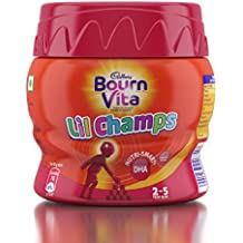 Bournvita Little Champs Pro-Health Chocolate Drink, 200 gm Jar