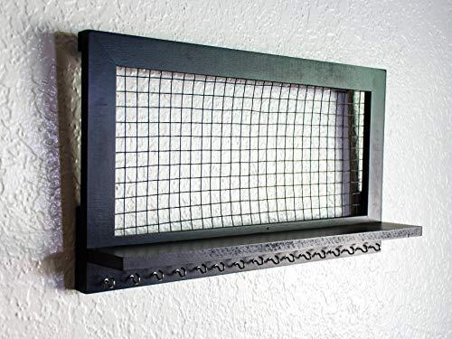 Rstico-de-madera-soporte-de-pared-organizador-de-joyas-para-pendientescollarespulserasaccesorios