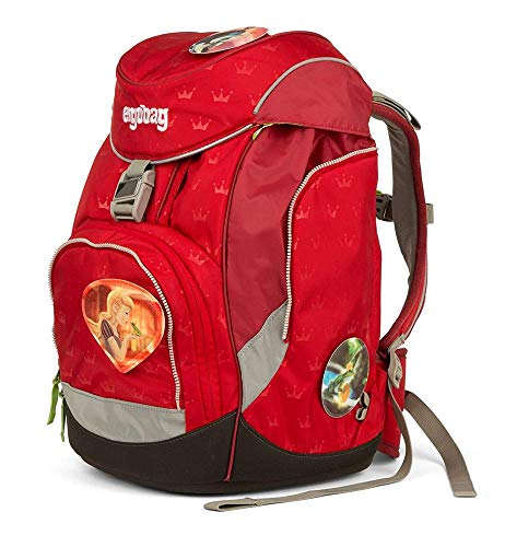 Ergobag Pack Küss den Bär -Gold, ergonomischer Schulrucksack, Set 6-teilig, 20 Liter, 1.100 g, Gold
