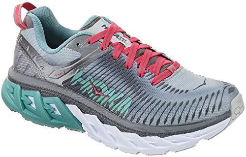 Hoka Arahi 2, Zapatillas de Running por Mujer, Gris (Steel/GrayMetal), 38 EU