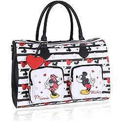Sac de voyage DISNEY Minnie Mouse noir