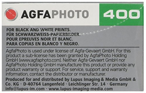 Buy Agfa Photo APX 400 Prof 135-36 Camera Film (Pack of 20) Review