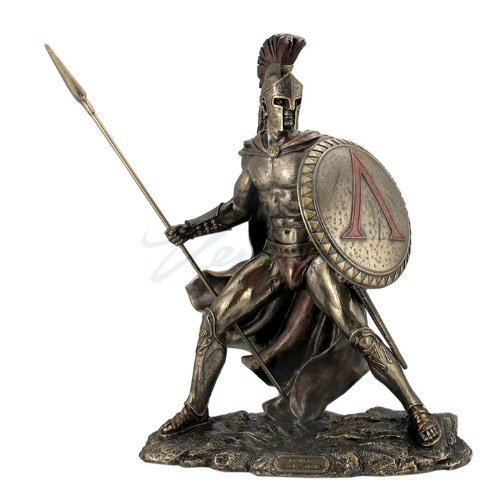 greek-military-king-leonidas-statue-bronze-finish-by-unicorn-studio