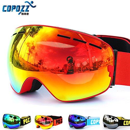brand ski goggles double layers UV400 anti-fog big ski mask glasses skiing men women snow snowboard goggles GOG-201 Pro