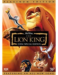 The Lion King (Disney Special Platinum Edition) [Import USA Zone 1]