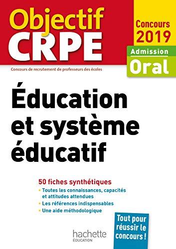 CRPE en fiches : Éducation et système éducatif 2019 par  Serge Herreman, Catherine Boyer, Patrick Ghrenassia