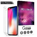 iPhone X Panzerglas Schutzfolie, ONSON® [3 Stück] Displayschutzfolie für Apple iPhone X  /...