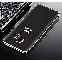 Shinyzone Samsung Galaxy S7 Edge Zurück TPU Hülle,Kristall Transparentes Silikon + Überzug Roségold Bumper Stilvoll... preisvergleich bei billige-tabletten.eu