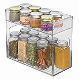 InterDesign Cabinet Binz Spice Rack, Clear