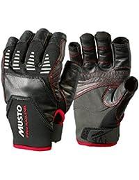 2017 Musto Evolution Sailing Short Finger Glove BLACK AE1090 Sizes- - Large