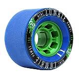 Mini-Zombie Hawgs Wheels skateboard-Rollen, 4 Stück, blau, 70 mm