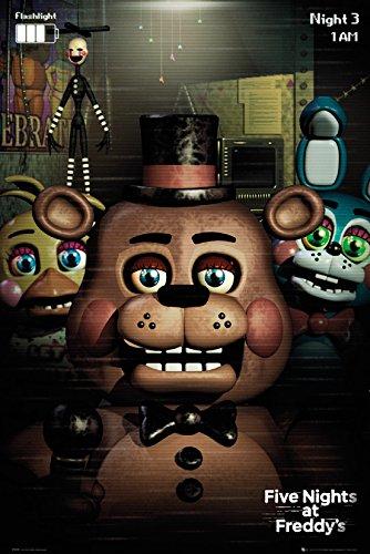GB Eye, Five Nights at Freddys, Personnagi, Maxi Poster